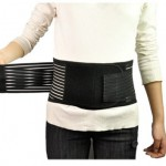 Waist Lower Back Support Belt Breathable Brace Double Pull Pain Relief