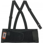ProFlex 1650 Economy Elastic Back Support Belt, Black, Large