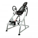 Emer Premium Padded Stationary Gravity Inversion Table for Back Therapy Exercise Fitness INVR-06S