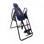 Emer Deluxe Padded Foldable Gravity Inversion Table for Back Therapy Exercise Fitness INVR-08B-BLU