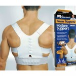 Size L Power Magnetic Posture Support Corrector Back Brace Belt DDStore