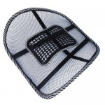 Docooler Car Office Seat Chair Massage Back Lumbar Support Mesh Ventilate Cushion Pad (Size1)
