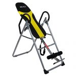 Ancheer Back Inversion Therapy Table with Padded Backrest Adjustable Folding Exercise Tables